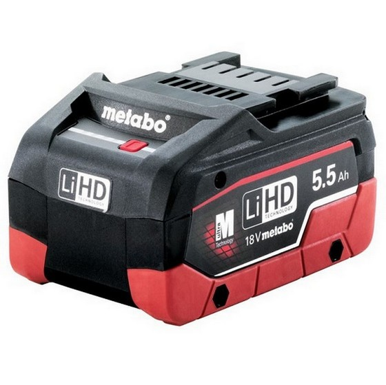 METABO 18V LiHD 5.5AH LITHIUM ION BATTERY PACK