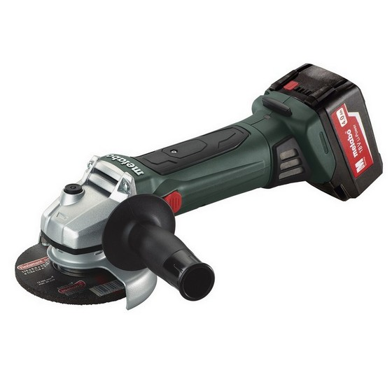 METABO W18 LTX 18V ANGLE GRINDER 150MM WITH 2X 5.2AH LI-ION BATTERIES