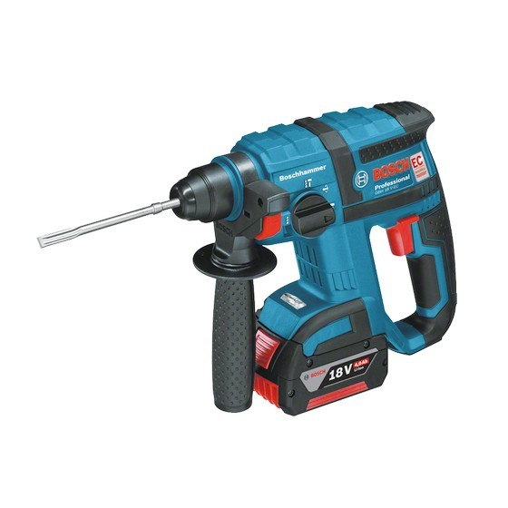 BOSCH GBH18V-EC 18V SDS PLUS BRUSHLESS HAMMER DRILL 2X 5.0AH Li-ION BATTERIES IN L-BOXX