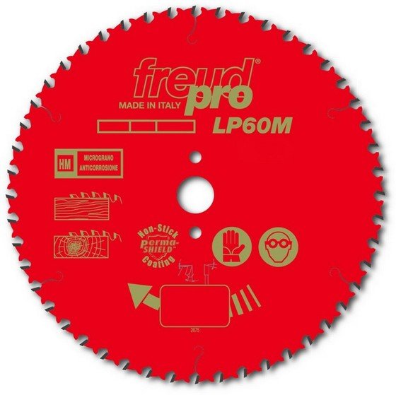 Image of FREUD F03FS03731 MITRE SAW BLADE 80T X 30 X 250MM