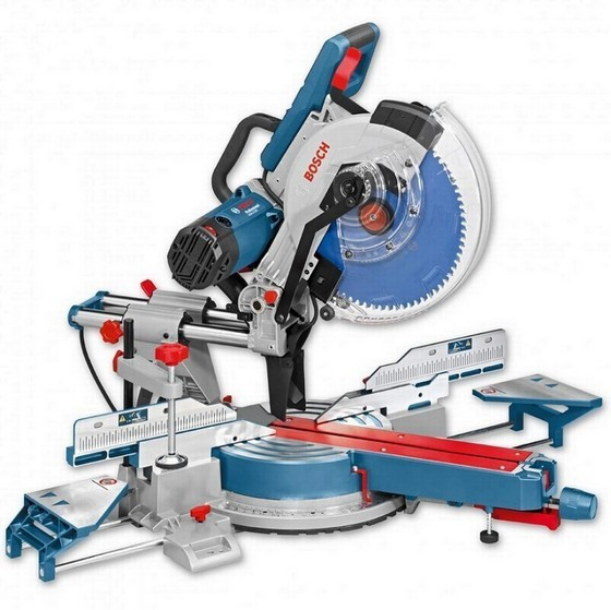 Image of Bosch Gcm12sde 12in Double Bevel Mitre Saw 110v