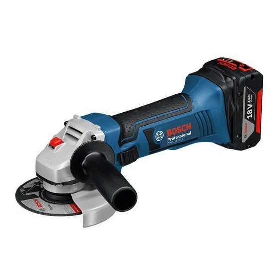 BOSCH GWS18VLI 18V ANGLE GRINDER 2X 40AH LIION BATTERIES IN LBOXX lowest price