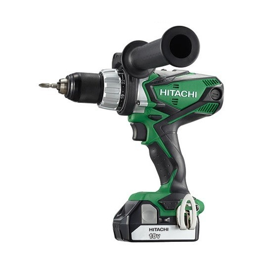 HITACHI DV18DSFL 18V COMBI DRILL WITH 2X 2.5AH LI-ION BATTERIES