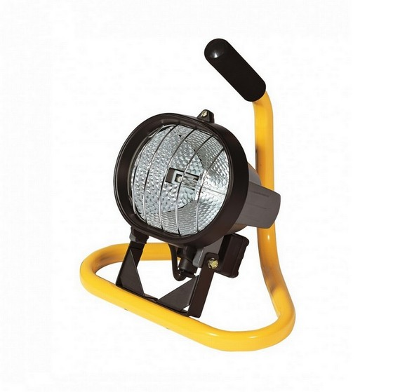 Image of DEFENDER E709007 MINIPOD 400W HALOGEN FLOOR STAND LIGHT 110V