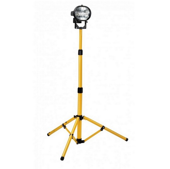 DEFENDER E709095 WORKSHOP TELESCOPIC SINGLE HEAD 400W HALOGEN FLOODLIGHT 110V lowest price