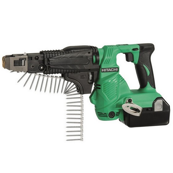 HITACHI WF18DSL/JW 18V COLLATED SCREWDRIVER WITH 2X 4.0AH LI-ION BATTERIES
