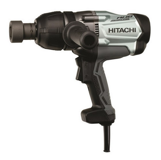 HITACHI WR22SA/J1 850W 3/4IN 610MM IMPACT WRENCH 240V