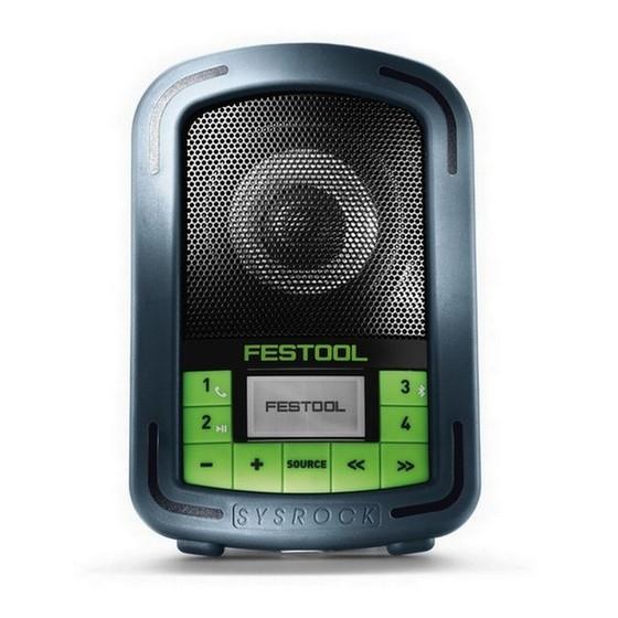 Image of FESTOOL 200185 BR10 BLUETOOTH CONSTRUCTION SITE RADIO 240V