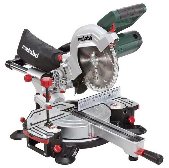 Image of Metabo Kgs216m 216mm Slide Compound Mitre Saw 110v