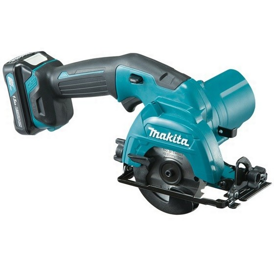MAKITA HS301DWAE 10.8V CXT 85MM CIRCULAR SAW WITH 2X 2.0AH LI-ION BATTERIES