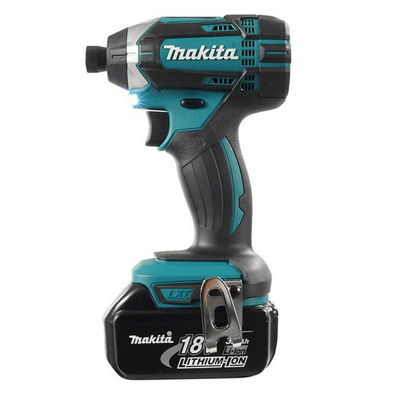 makita dlx2131j 18v combi impact driver twin pack with 2x li ion batteries. Black Bedroom Furniture Sets. Home Design Ideas