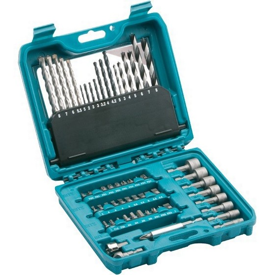MAKITA P-90358 60 PIECE PRO POWER DRILL ACCESSORY SET