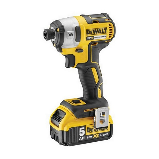 DEWALT DCF887P2 18V BRUSHLESS IMPACT DRIVER WITH 2X 50AH LIION BATTERIES lowest price
