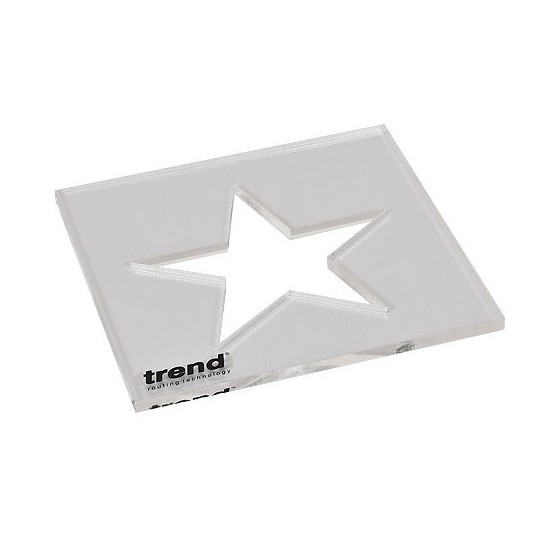 TREND TEMPINSTA STAR TEMPLATE INLAY