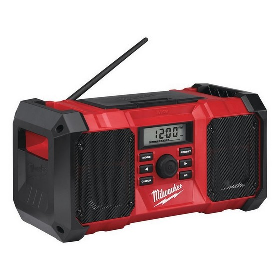 MILWAUKEE M18JSR-0 18V CORDLESS JOB SITE RADIO 240V (BODY ONLY)