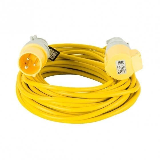 DEFENDER E85111 EXTENSION LEAD 16 AMP 110V 14 METRE