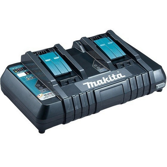 MAKITA DC18RD 18V DUAL CHARGER SUPPLIED IN MAKPAC CASE
