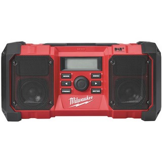 MILWAUKEE M18JSRDAB-0 18V CORDLESS DIGITAL DAB JOB SITE RADIO 240V