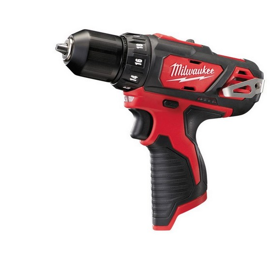 MILWAUKEE M12BDD-0 COMPACT DRILL DRIVER (BODY ONLY)