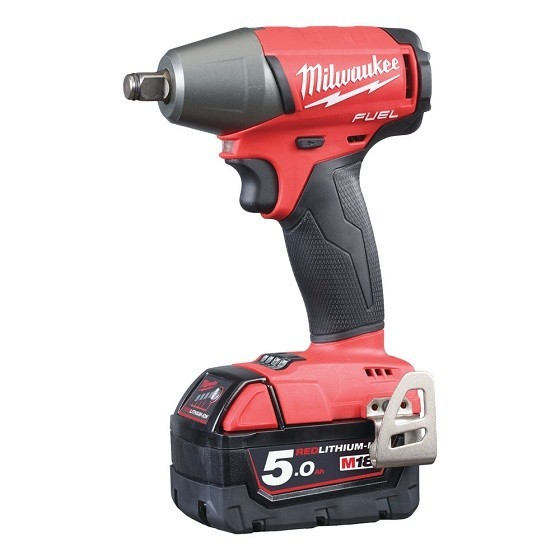 MILWAUKEE M18FIWF12-502X FUEL 2 IMPACT WRENCH WITH 2X 5.0AH LI-ION BATTERIES