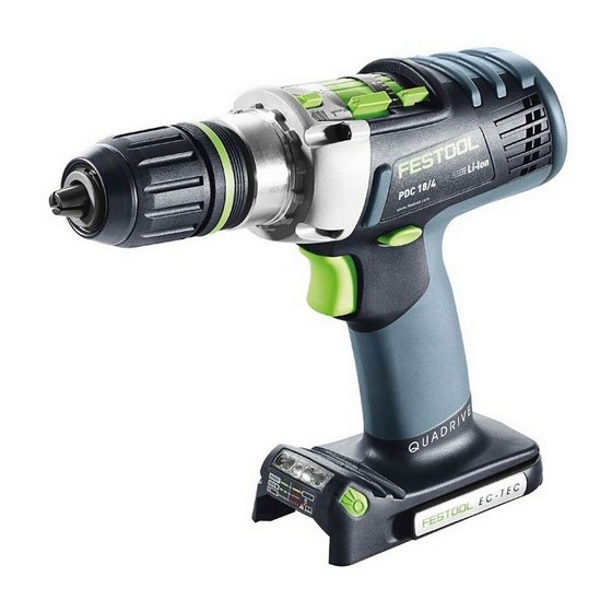 FESTOOL PDC 18/4 18V CORDLESS PERCUSSION DRILL (BODY ONLY)