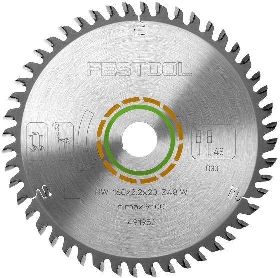 Image of FESTOOL 494605 W80 KAPEX BLADE 80T 25X30X260MM