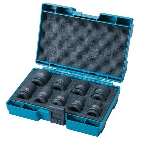 MAKITA D-41517 9 PIECE 1/2IN SOCKET SET