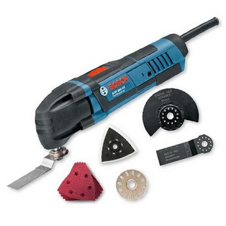 BOSCH GOP250CE MULTI TOOL WITH 8 ACCESSORIES 110V
