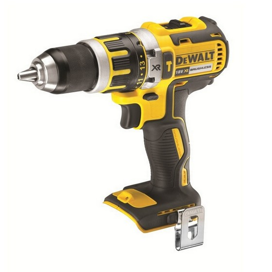 Image of DEWALT DCD795N 18V XR BRUSHLESS COMPACT COMBI DRILL BODY ONLY
