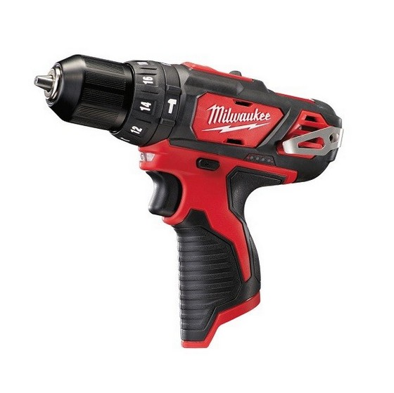 MILWAUKEE M12BPD-0 M12 12V COMPACT COMBI HAMMER DRILL (BODY ONLY)