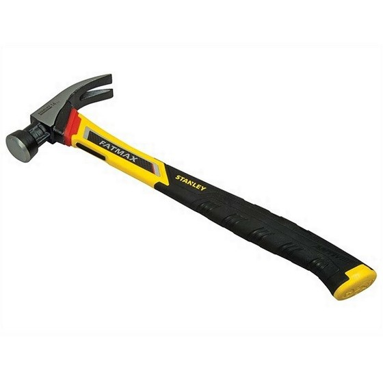 STANLEY FMHT1-51260 FATMAX VIBRATION DAMPENING CURVE CLAW HAMMER 14OZ