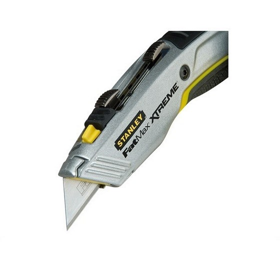Image of STANLEY STA010789 FATMAX RETRACTABLE TWIN BLADE KNIFE