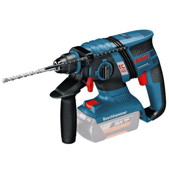 BOSCH GBH36VLI-EC 36V SDS PLUS BRUSHLESS HAMMER DRILL WITH 1X 1.3AH LI-ION BATTERY