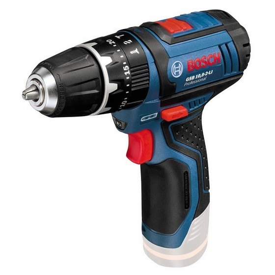 BOSCH GSB10.8-2 10.8V COMBI HAMMER DRILL (BODY ONLY)