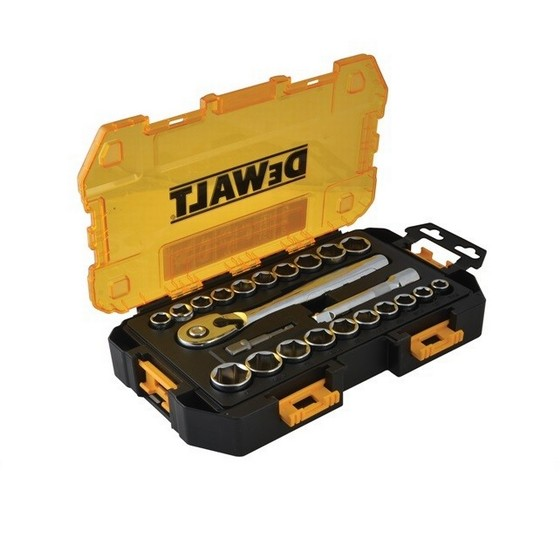 STANLEY STADW73813 23 PIECE 1/2 INCH DRIVE TOUGH SOCKET SET