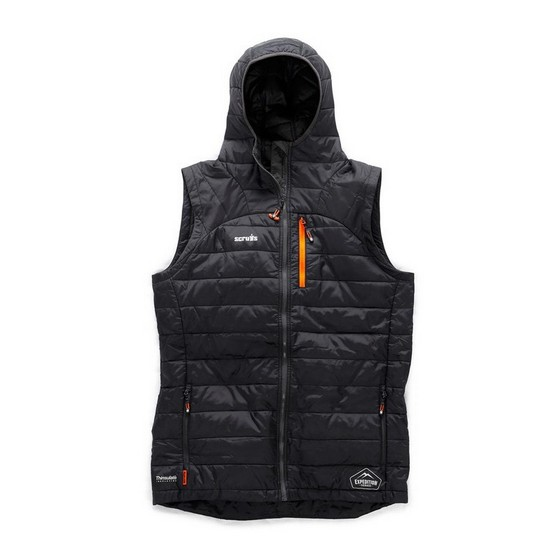 Image of SCRUFFS EXPEDITION THERMO HD GILLET BLACK LARGE