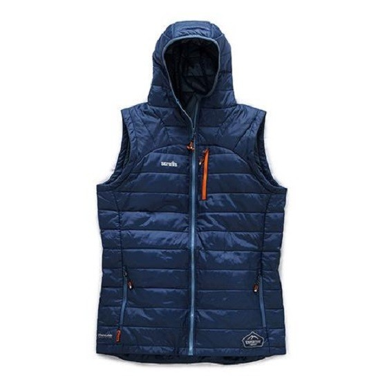 Image of SCRUFFS EXPEDITION THERMO HD GILLET BLUE MEDIUM