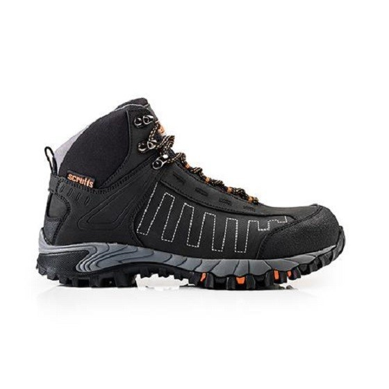 Image of Scruffs Cheviot Safety Boots Black Size 9