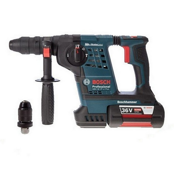 BOSCH GBH36VF-LI PLUS 36V SDS HAMMER DRILL WITH 1X 4.0AH LI-ION BATTERY