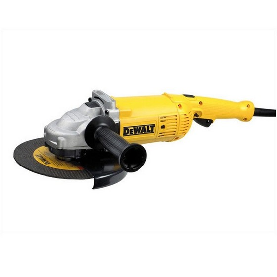 DEWALT D28492K ANGLE GRINDER 230MM SUPPLIED IN KITBOX 110V
