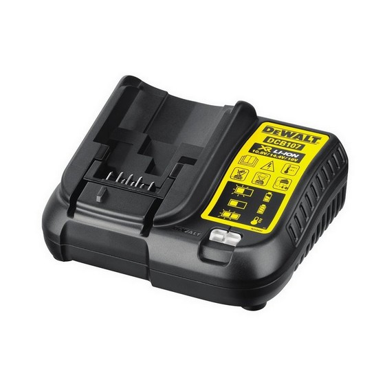 DEWALT DCB107 10.8V - 18V BATTERY CHARGER