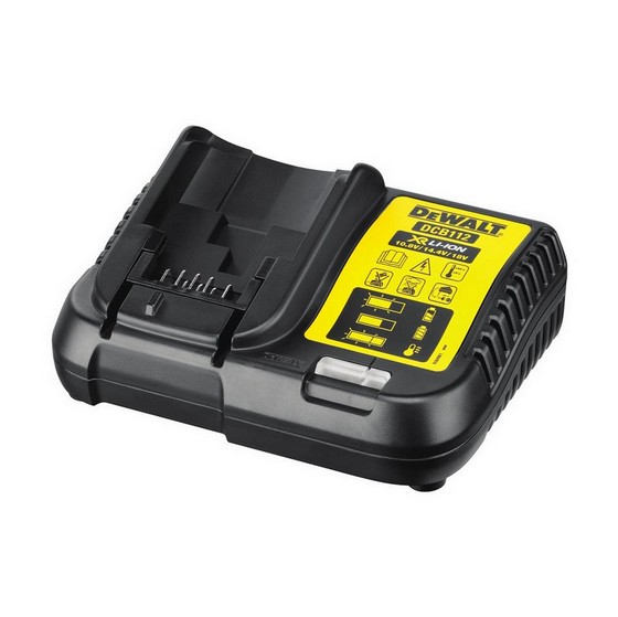 Image of DEWALT DCB112 108V 18V BATTERY CHARGER 240V