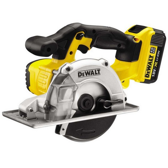 DEWALT DCS373M2 18V XR METAL CUTTING CIRCULAR SAW WITH 2X 4.0AH BATTERIES
