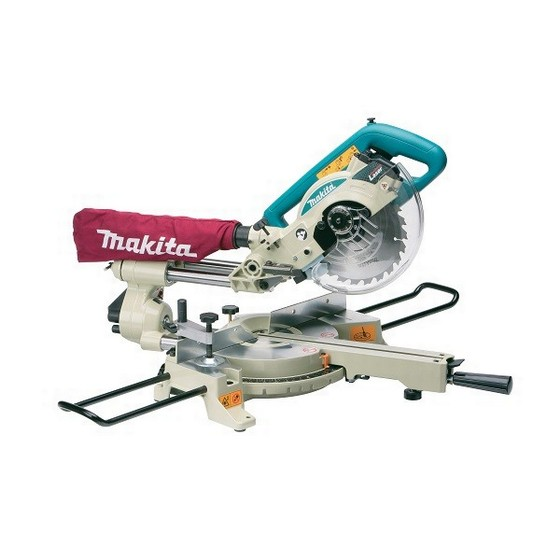 MAKITA LS0714X 190MM SLIDE COMPOUND MITRE SAW 240V WITH STAND