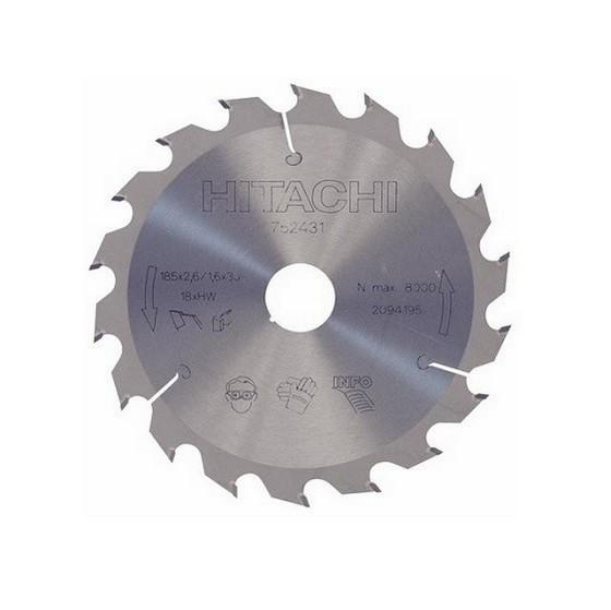 Image of HITACHI 752431 SAW BLADE 185MM X 30MM X 18T