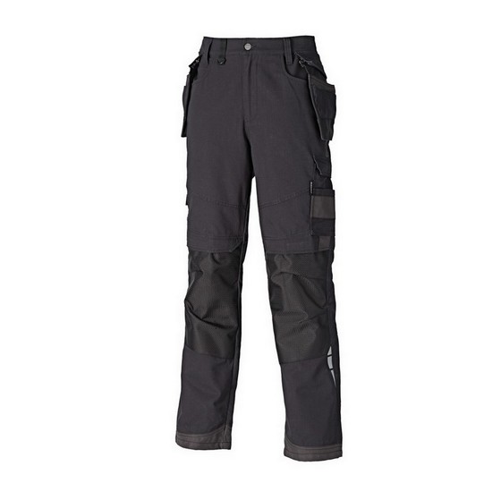 Image of Dickies Eh34000 Eisenhower Premium Trousers Regular Black 34w