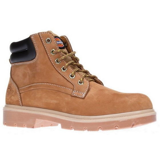 DICKIES FA9001 DONEGAL SAFETY BOOT HONEY (SIZE 6)