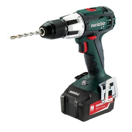 METABO SB18LT 18V COMBI HAMMER DRILL WITH 2X 4.0AH LI-ION BATTERIES