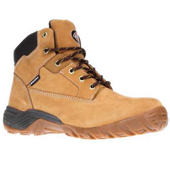 DICKIES FD9207 GRATON SAFETY BOOTS HONEY SIZE 8