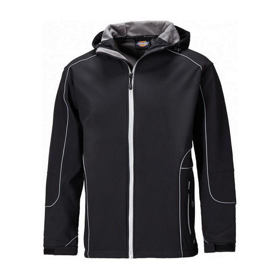 Image of Dickies Jw7050 Harlington Jacket Black Small